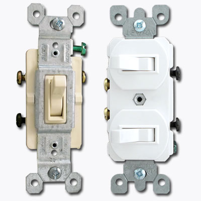 Electrical toggle switch types and descriptions