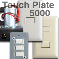 Touch Plate 5000 Series Light Switch Units