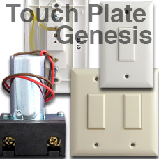 Genesis Low Volt Lighting by Touch Plate