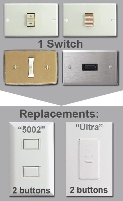 Replacing 1 Broken Low Voltage Switch