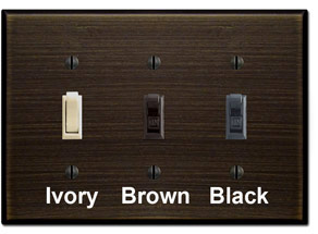 Oil Rubbed Bronze Light Switch Plates & Bronze Outlet Covers