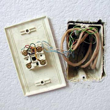 Telephone Jack Installation Instructions amp Photo Guide