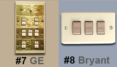 Bryant Low Voltage Lighting Trigger Switches