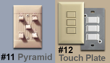 Old Light Switches Pyramid Brand