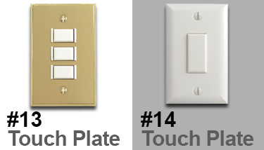 Touch Plate Lighting Styles