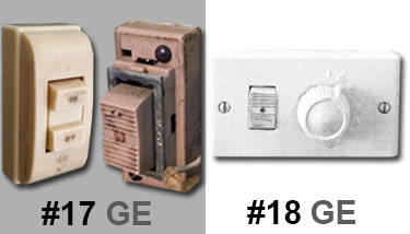1950s Light Switches