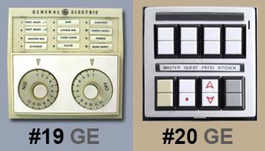 1950's Low Voltage Lighting Dial