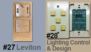 Replacement Parts for Old Leviton Low Voltage Lighting
