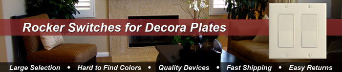 Buy Decora Rocker Switches Online in All Colors