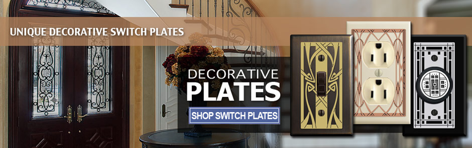 Shop Decorative Wall Switch Plates in Unique Designs
