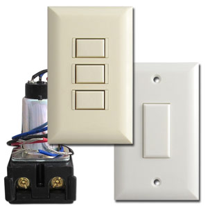 Low Voltage Switches, Relays, Wall Plates