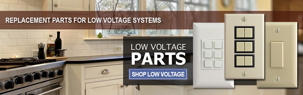 Buy Low Voltage Switches, Wall Plates & Replacement Parts