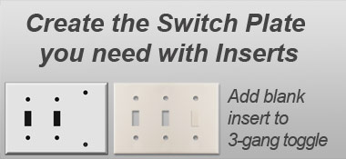 Combination Switch Plates Outlet Covers In HardToFind Sizes