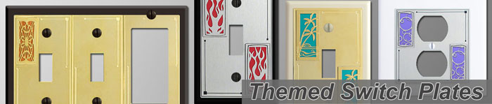 Themed Decorative Switch Plates