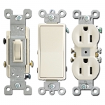 Almond Electrical Outlets & Light Switches