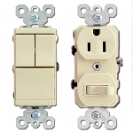 Ivory Combo Switches & Outlets