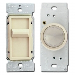Ivory Light Dimmers & Rotary Knobs