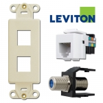 Leviton Modular Phone & Cable Jack Adapters