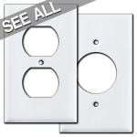 White Outlet Covers