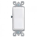 White Decora Rocker Switches
