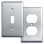302 Stainless Steel Light Switch Covers