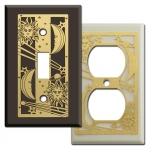 Celestial Sun & Moon Switch Plate Covers