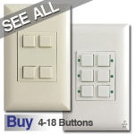Touch-Plate Classic Low Voltage Light Switches
