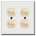 Horizontal Toggle Switch Plates