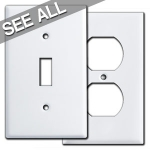 White Wall Plates - Best Selling Sizes