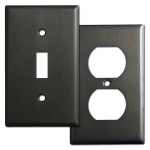 Dark Bronze Switch Plates