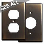 Oil Rubbed Bronze Outlet Cover Plates