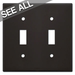 Brown Toggle Switch Plates