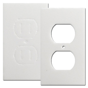 Energy Saving Insulating Gaskets for Outlet Covers