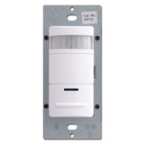 Leviton Manual-On White Occupancy Sensor Auto-Off Light Switch