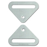 Wall Plate Straps for Mounting Switch Covers to Electrical Boxes