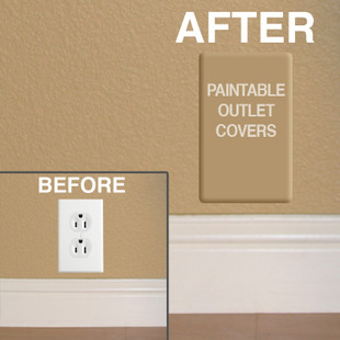 Paintable Outlet Covers