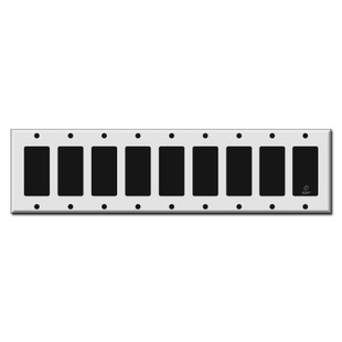 9 Rocker Switch Plates