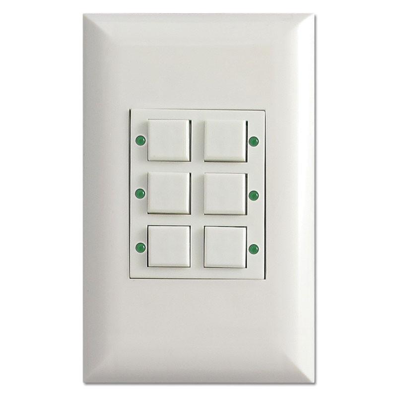 Low Voltage Control Switch : Low volt touchplate led classic button pilot light