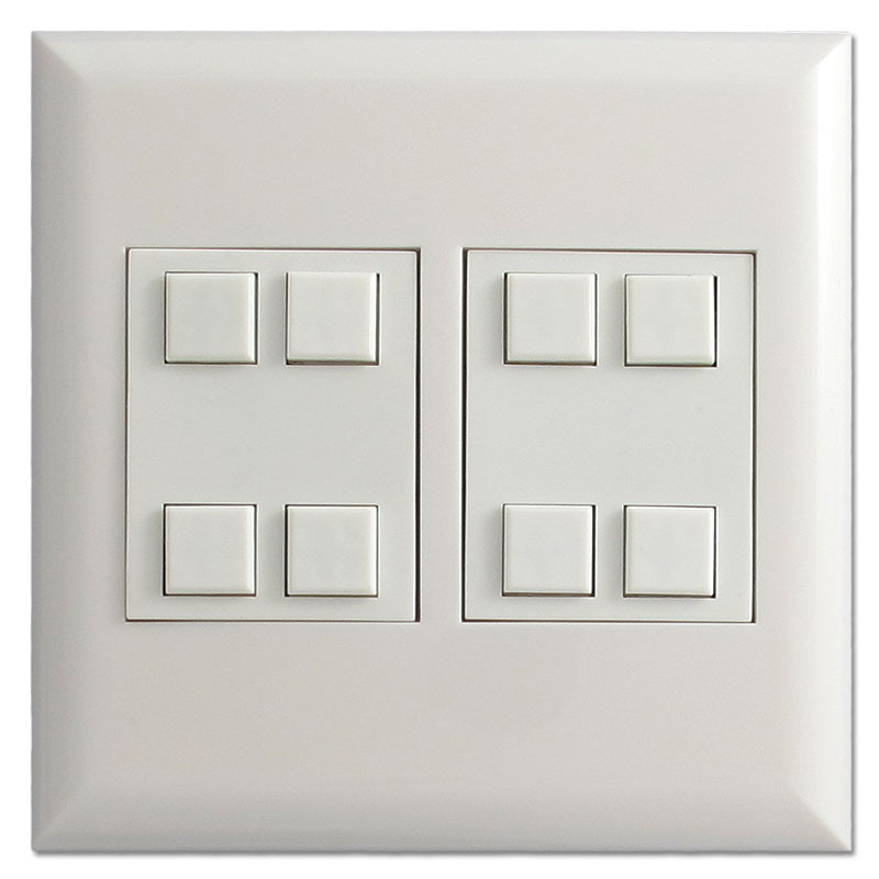 Low Voltage Control Switch : Touch plate low voltage switch control classic button