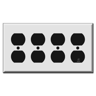 4 Duplex Outlet Covers