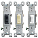 Leviton 15A Toggle Light Switches