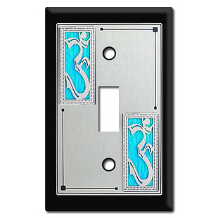 Switch Plate - Decor with Om Symbol