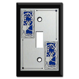 Switch Plates & Outlet Covers with Deer Decor