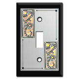 Asian Decorative Switch Plates with Chinese Dragon