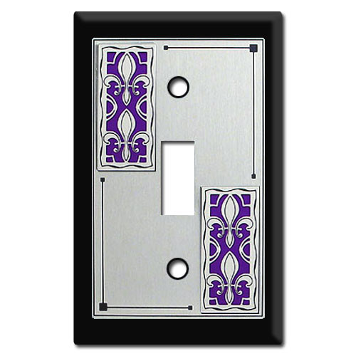 fleur de lis decorative switch plates outlet covers. Black Bedroom Furniture Sets. Home Design Ideas
