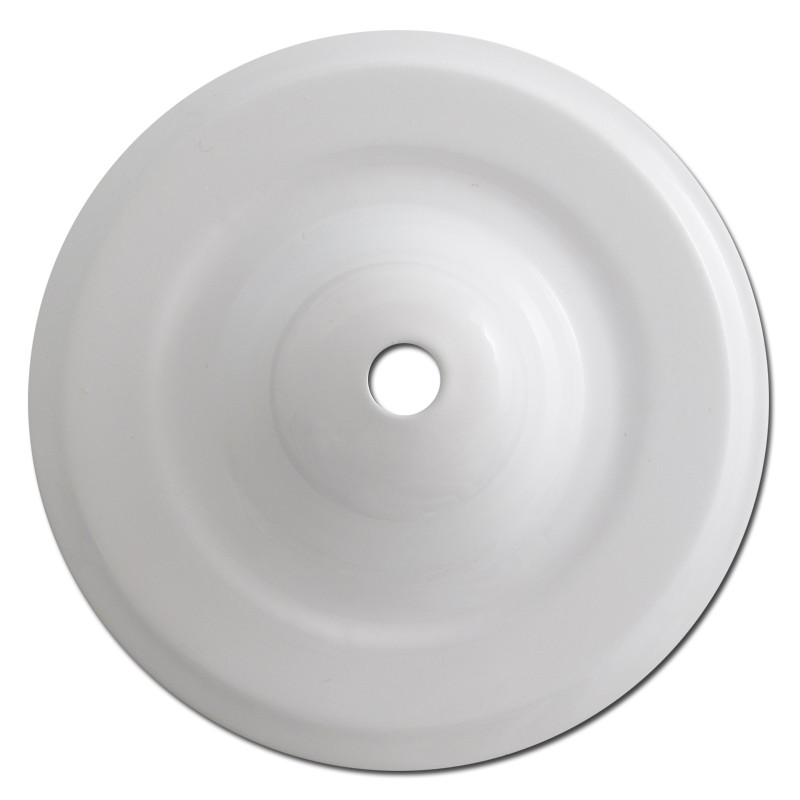 Deep Round Ceiling Outlet Blank Switch Plates With Center