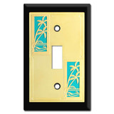 Tropical Decor - Switch Plates with Palm Trees