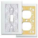 Music Lover Switch Plates in White