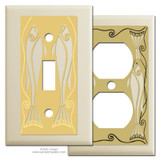 Lake House Switch Plates - Ivory
