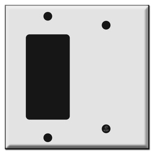 Rocker and 1 blank combo wall switch plates kyle switch plates